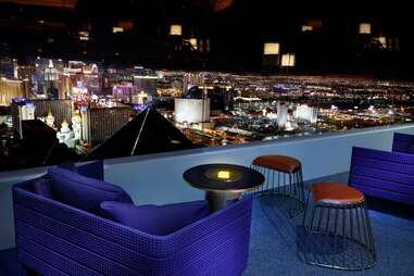 skyfall lounge in las vegas at the delano