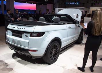 Land Rover Range Rover Evoque Convertible Geneva Auto Show 2016