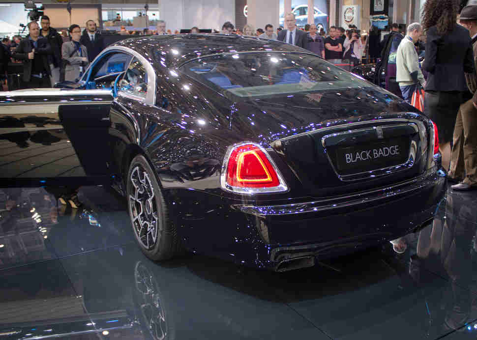 Rolls-Royce Ghost Black Badge Geneva Auto Show 2016