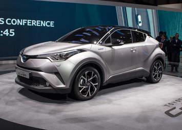 Toyota CH-R Geneva Auto Show 2016