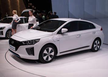 Hyundai Ioniq Geneva Auto Show 2016
