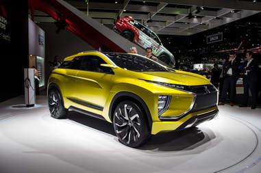 Mitsubishi eX Concept Geneva Auto Show 2016