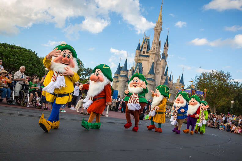 the seven dwarfs disney disney world characters