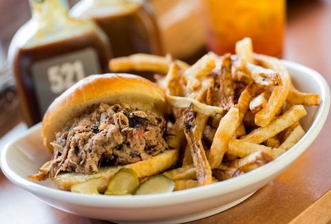 521 Kitchen and Que best BBQ in Atlanta