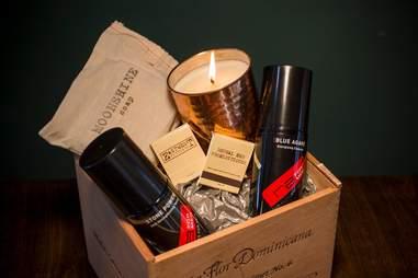 Gift shop goods from Scottsdale men's spa