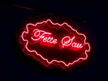 fette sau neon sign philadelphia