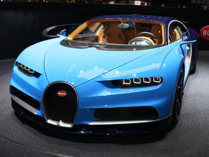 Bugatti Chiron Geneva Auto Show