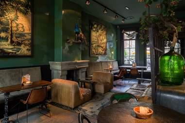interior of Lion Noir bar