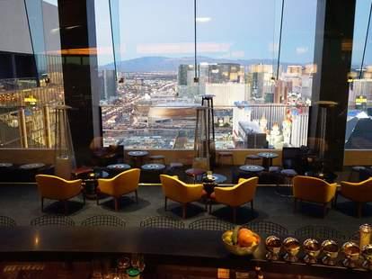 Delano Las Vegas skyfall lounge bar