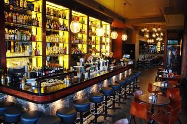 illuminated Bar Lempicka in amsterdam