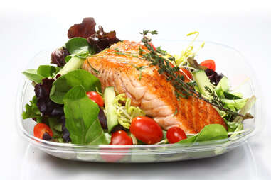 Anton & James salmon dish