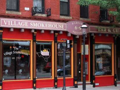 The Village Smokehouse Brookline bbq boston