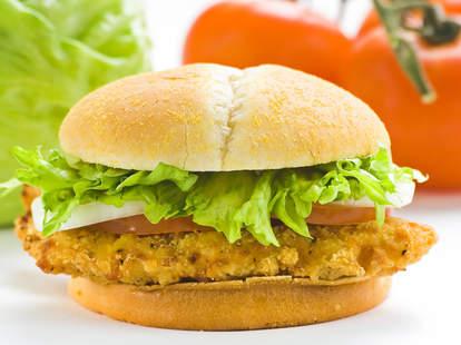 friend chicken sandwich