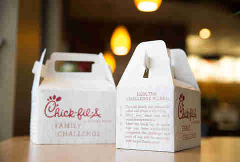 Chick-Fil-A family challenge