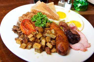 full irish breakfast at irish house