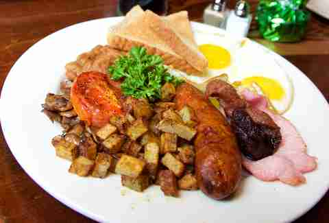 full irish breakfast at irish house