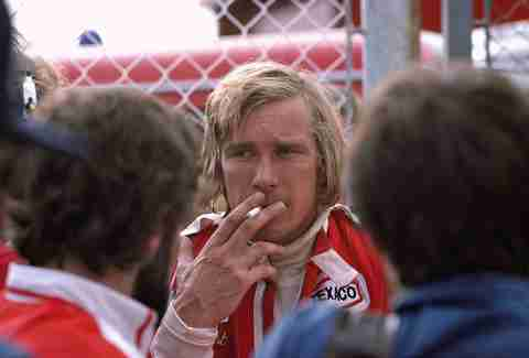 James Hunt Austria 1976