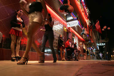 Tijuana Red Light District