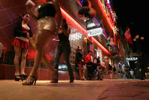 Tijuana Red Light District