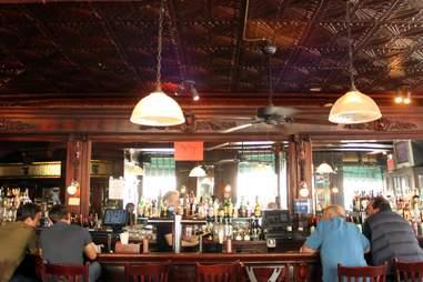 bar at Landmark Tavern best Irish bars in New York City NYC