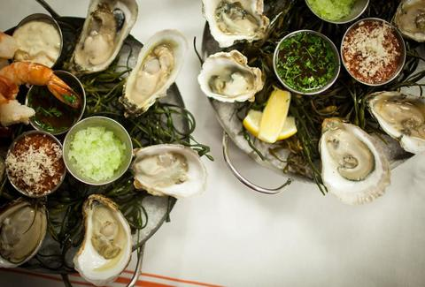 L&W oyster co oyster platters