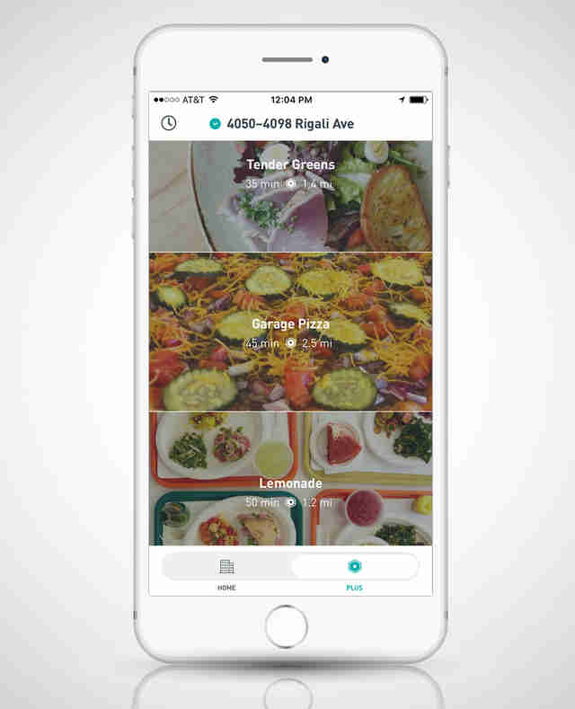 Postmates screenshot iphone