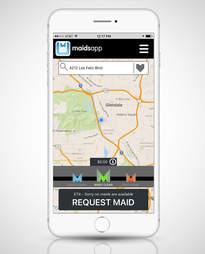 MaidsApp iphone screenshot