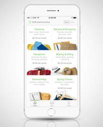 TaskRabbit iPhone screenshot