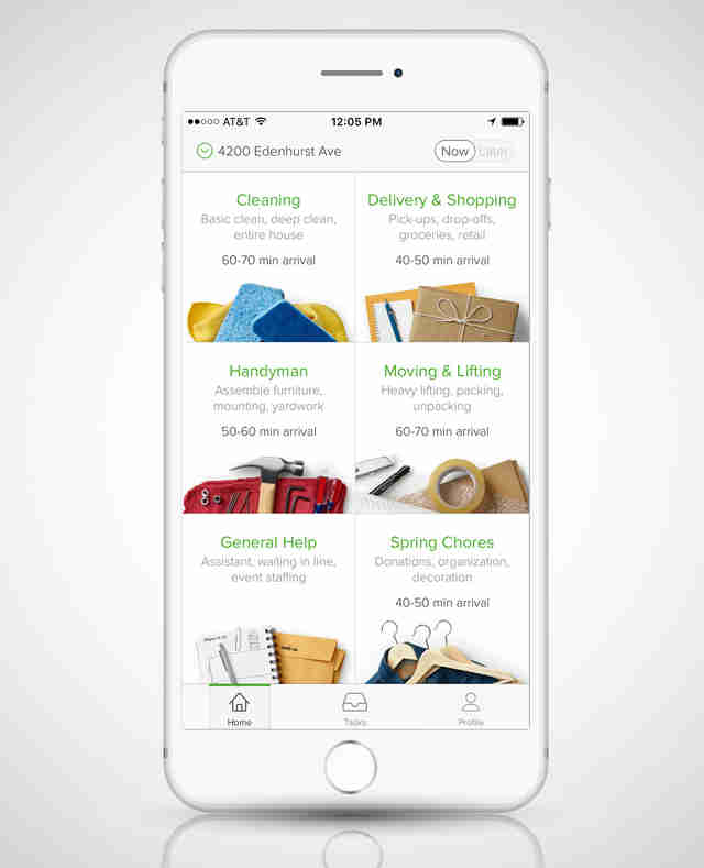 TaskRabbit iPhone screenshot