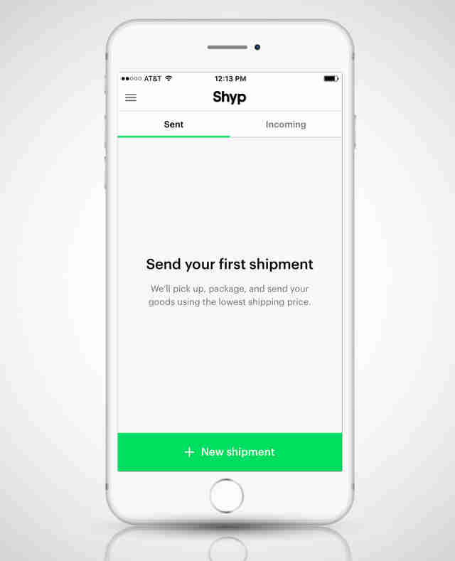 shyp screenshot iphone