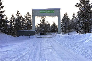The Gates of White Hell