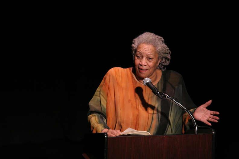 Toni Morrison speaking
