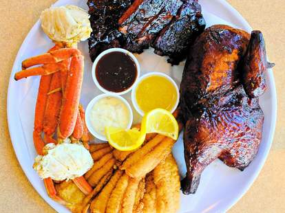 Molly's Smokehouse in Honolulu, Hawaii