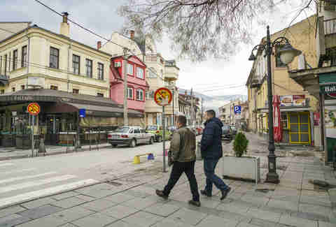 streets of Bitola, Macedonia