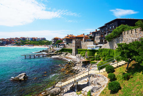 Sozopol, Bulgaria waterfront