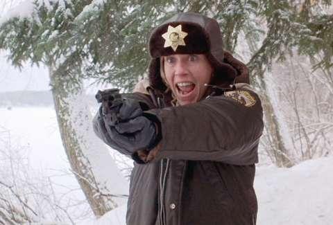 Fargo Marge Gundersonm Frances Mcdormand Gun Snow