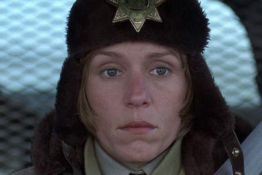 Fargo, Frances McDormand, Marge Gunderson, hat
