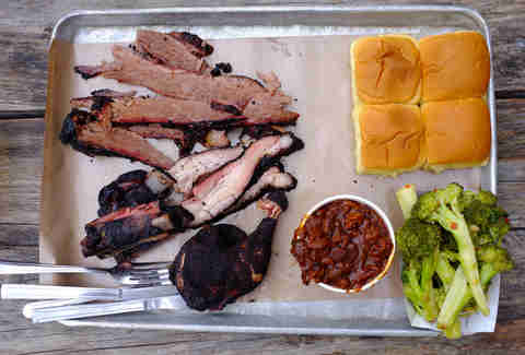 Fette Sau Williamsburg Barbecue Ribs Brisket