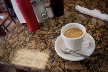 Tropical Beach Cafe cuban coffee at Miami Beach, FL