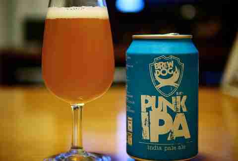 Brew Dog Punk IPA beer