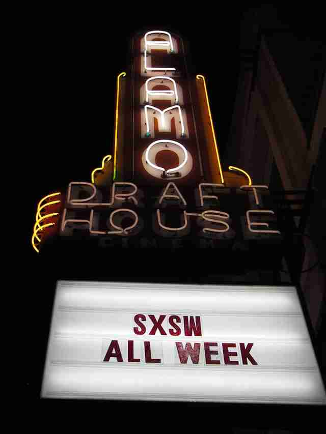 Alamo Draft House SXSW film festival