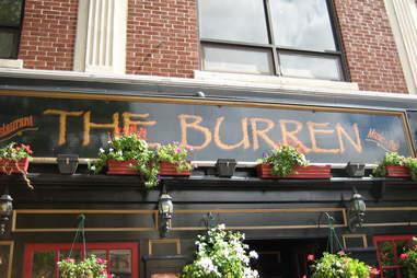 The Burren bar