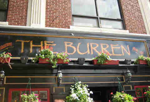 The Burren bar