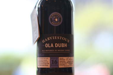 Harviestoun Brewery Ola Dubh 16 beer