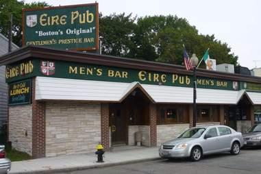 Outside of Eire Pub