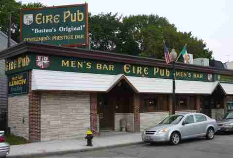 Outside of Eire Pub