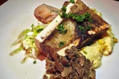bone marrow dish from sarap: a filipino pop-up