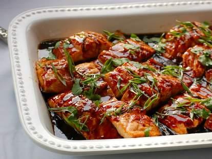 chicken in sauce from Salt & Saffron