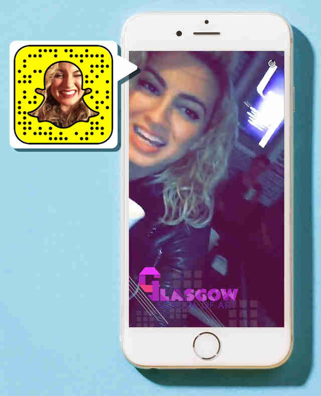 Tori Kelly on Snapchat