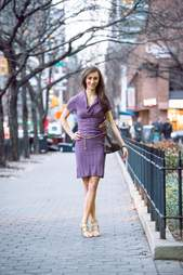 woman dressed for a meeting